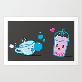 Serendipi-Teas Art Print
