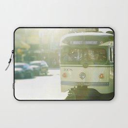 San Francisco Trolley Photograph - 1008 Laptop Sleeve