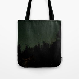 Nightscape at Orcas Island Tote Bag