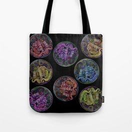 Octopus Dots Tote Bag