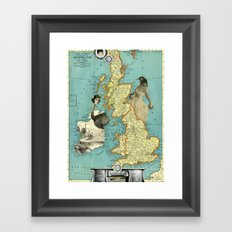 Bird Women of the British Isles Framed Art Print
