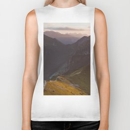Before sunset - Landscape and Nature Photography Biker Tank