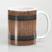 wooden Mugs featuring Wooden by Jessica Jimerson