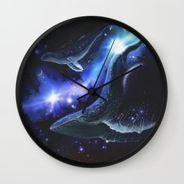 The Song of Floating Angels Wall Clock