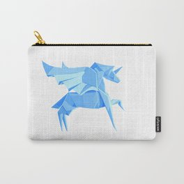 Origami Pegasus Carry-All Pouch