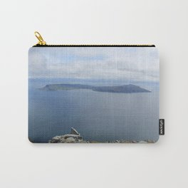 Isle of Eigg viewed from the Isle of Rum Carry-All Pouch