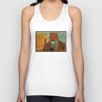 phil jones Tank Tops featuring Punxsutawney Phil by Derek Eads
