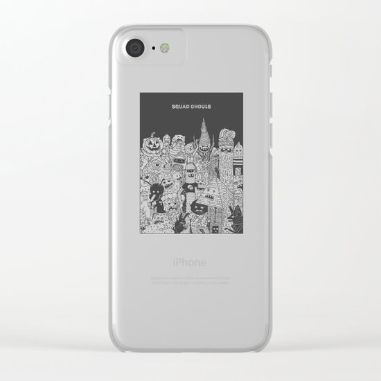 Squad Ghouls Clear iPhone Case