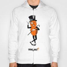 An Orange Peanut Hoody