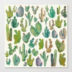 cactus collab Canvas Print