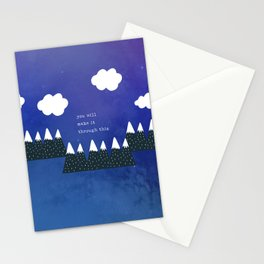 You Will Make It Through This 1 Stationery Cards