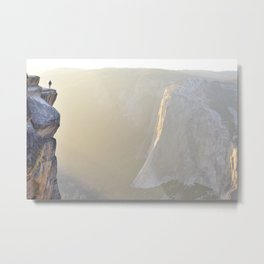 Steep Light Metal Print