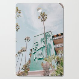 beverly hills / los angeles, california Cutting Board