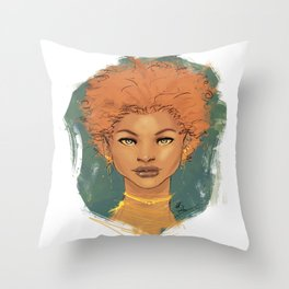 The brave love Throw Pillow
