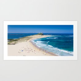 Newcastle, NSW, Australia Newcastle Beach Art Print