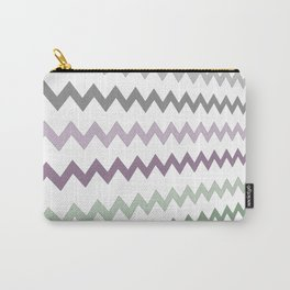 Pastel Sawtooth Carry-All Pouch