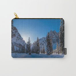 Sunny morning in Val Fiscalina Carry-All Pouch