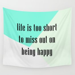 being happy Wall Tapestry