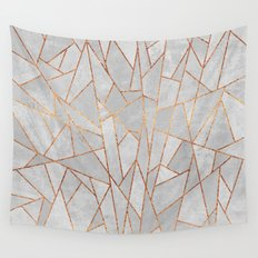Shattered Concrete Wall Tapestry