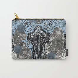BULL SKULL Carry-All Pouch