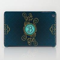 monogram iPad Cases featuring Monogram B by Britta Glodde