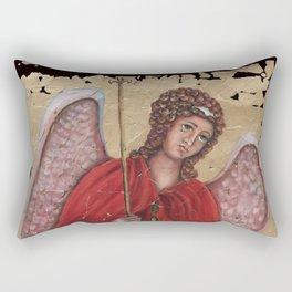 Archangel Gabriel Rectangular Pillow