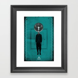 disco man Framed Art Print