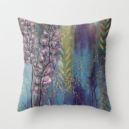 Seeds of Loving Spirit Throw Pillow