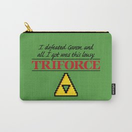 Lousy Triforce Carry-All Pouch
