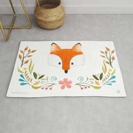 Fox & Florals Rug