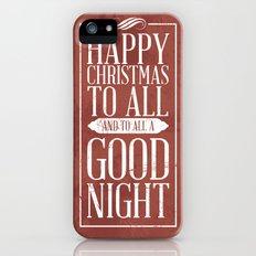 Happy Christmas iPhone (5, 5s) Slim Case