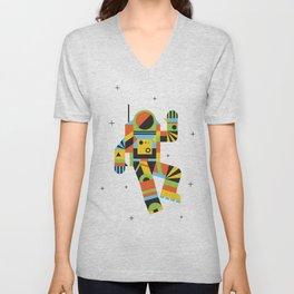 Hello Spaceman Unisex V-Neck