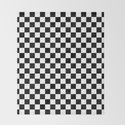 Black and White Checkerboard Pattern by nexart