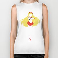 sailor venus Biker Tanks featuring Sailor Venus by JHTY