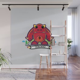 Monster Belgium 2014 Wall Mural
