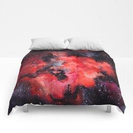 Red Nebula Comforters