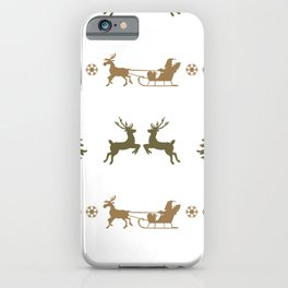 Christmas pattern 2 iPhone Case