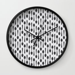 Kitchen cutlery spoons Wall Clock