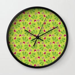 Radish Garden Wall Clock