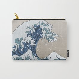 The Big Wave (homage to The Great Wave) Carry-All Pouch