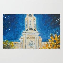 St Louis Missouri LDS Temple Rug