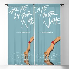 2018 new Call Me by Your Name movie poster Blackout Curtain