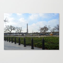 Walk Canvas Print