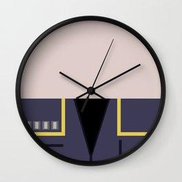 Jonathan Archer - Minimalist Star Trek: Enterprise ENT - Trektangle - startrek - USS Enterprise Wall Clock