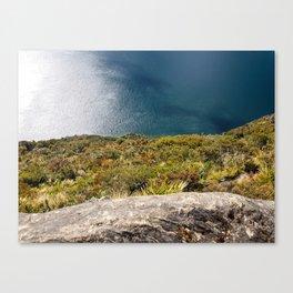 Up High Lake Waikaremoana NZ Canvas Print