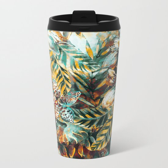 TROPICAL ISLAND Metal Travel Mug