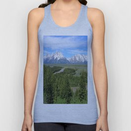 Snake River And The Grand Tetons Unisex Tank Top