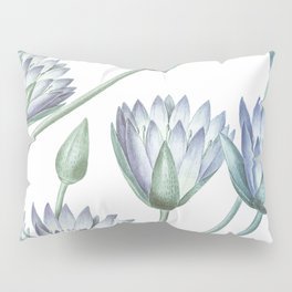 Water Lily Blue Pillow Sham