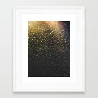 sparkle Framed Art Prints featuring Sparkle by Jane Lacey Smith