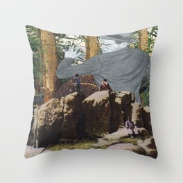 There's No Escape Throw Pillow